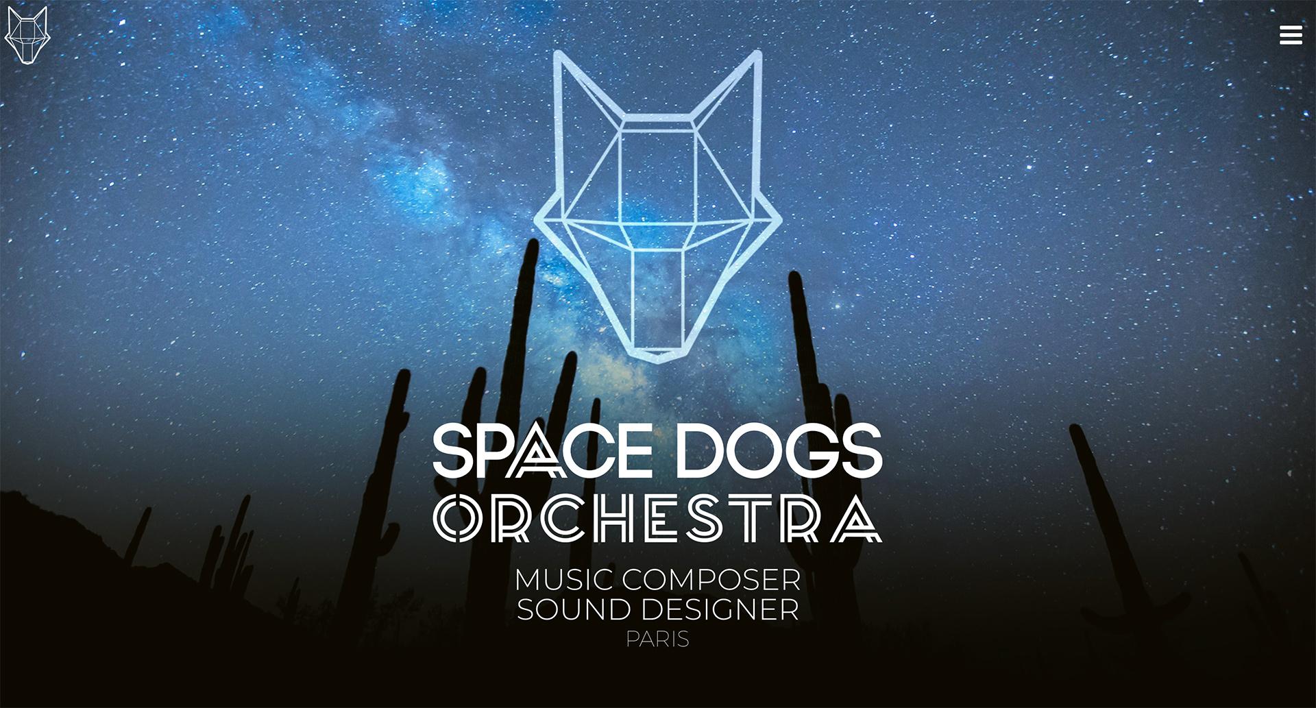 Webdesign et développpement pour un studio de composition musicale - sound design à Paris